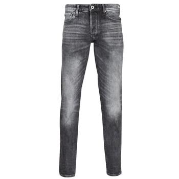 衣服 男士 直筒牛仔裤 G-Star Raw 3301 STRAIGHT TAPERED 灰色