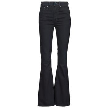 衣服 女士 喇叭牛仔裤 G-Star Raw 3301 FLARE 蓝色