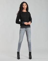 衣服 女士 牛仔铅笔裤 G-Star Raw LHANA SKINNY 灰色