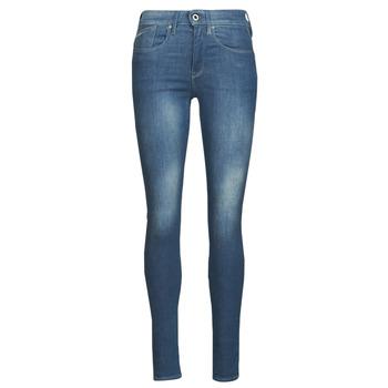 衣服 女士 牛仔铅笔裤 G-Star Raw LHANA SKINNY 蓝色