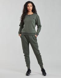 衣服 女士 厚裤子 G-Star Raw PREMIUM CORE 3D TAPERED SW PANT WMN 灰色