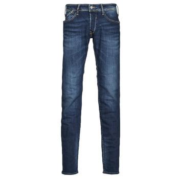 衣服 男士 紧身牛仔裤 Le Temps des Cerises 712 BAS 蓝色