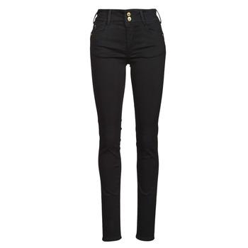 衣服 女士 紧身牛仔裤 Le Temps des Cerises ULTRA PULP 黑色