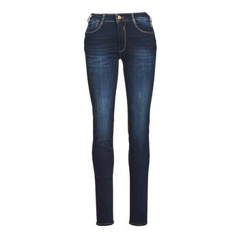 衣服 女士 紧身牛仔裤 Le Temps des Cerises PULP HIGH NAPLES 蓝色 / 黑色