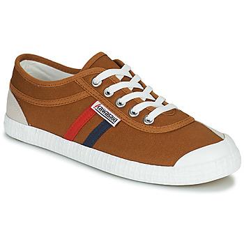鞋子 球鞋基本款 Kawasaki 川崎凌风 RETRO 棕色
