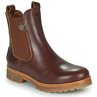鞋子 女士 短筒靴 Panama Jack 巴拿马 杰克 FRANCESCA 棕色