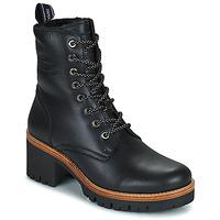 鞋子 女士 短筒靴 Panama Jack 巴拿马 杰克 PADMA 黑色