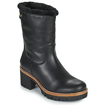 鞋子 女士 短筒靴 Panama Jack 巴拿马 杰克 PIOLA 黑色
