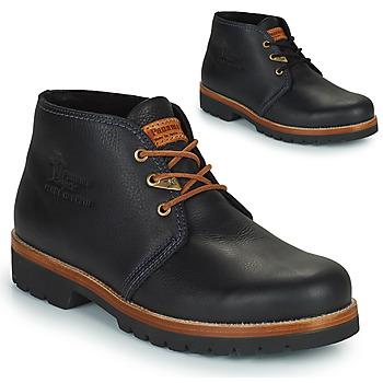 鞋子 男士 短筒靴 Panama Jack 巴拿马 杰克 BOTA PANAMA 黑色