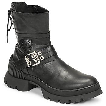 鞋子 女士 短筒靴 Philippe Morvan CAMIX 黑色