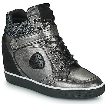 鞋子 女士 高帮鞋 Philippe Morvan NOEK 黑色 / 银灰色