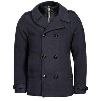 衣服 男士 大衣 Petrol Industry JACKET WOOL 蓝色
