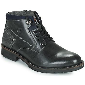 鞋子 男士 短筒靴 Kaporal GAETAN 黑色