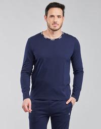 衣服 男士 长袖T恤 Polo Ralph Lauren CREEW SLEEP TOP 海蓝色