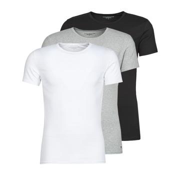 衣服 男士 短袖体恤 Tommy Hilfiger STRETCH TEE X3 白色 / 灰色 / 黑色