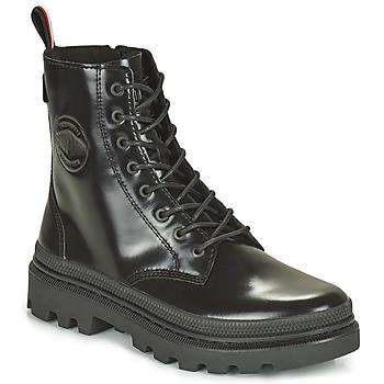 鞋子 短筒靴 Palladium 帕拉丁 PALLATROOPER 黑色