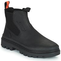 鞋子 短筒靴 Palladium 帕拉丁 PALLATROOPER WATERPROOF 黑色