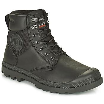 鞋子 短筒靴 Palladium 帕拉丁 SPORTCUFF ESSENTIAL WATERPROOF 黑色