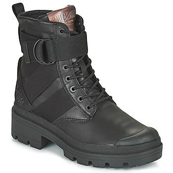 鞋子 女士 短筒靴 Palladium 帕拉丁 PALLABASE TACT STR L 黑色