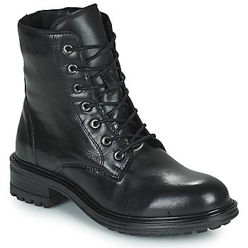 鞋子 女士 短筒靴 San Marina CHAMAL 黑色