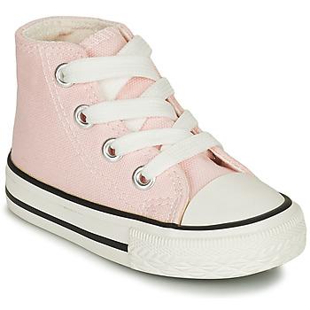 鞋子 女孩 高帮鞋 Citrouille et Compagnie NEW 19 玫瑰色