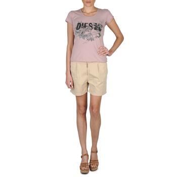 衣服 女士 短裤&百慕大短裤 Diesel 迪赛尔 HANTU 米色