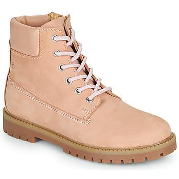 鞋子 女孩 短筒靴 Citrouille et Compagnie PACITO 玫瑰色