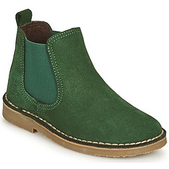 鞋子 儿童 短筒靴 Citrouille et Compagnie HOVETTE 绿色