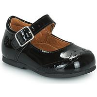 鞋子 女孩 平底鞋 Citrouille et Compagnie PULLO 漆皮 / 黑色