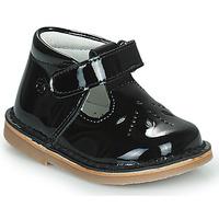 鞋子 女孩 平底鞋 Citrouille et Compagnie OTALI 黑色 / 漆皮
