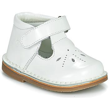 鞋子 女孩 平底鞋 Citrouille et Compagnie OTAL 白色 / 漆皮