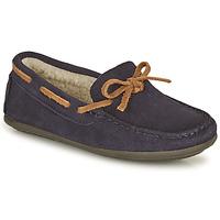 鞋子 男孩 皮便鞋 Citrouille et Compagnie OUTIL 海蓝色