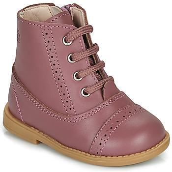 鞋子 女孩 短筒靴 Citrouille et Compagnie PUMBAE 玫瑰色