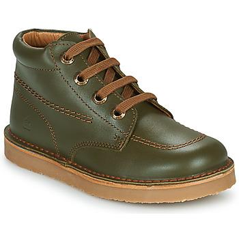 鞋子 男孩 短筒靴 Citrouille et Compagnie PIMON 绿色