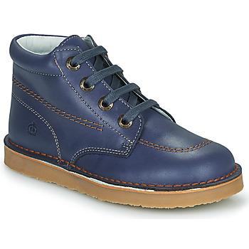 鞋子 男孩 短筒靴 Citrouille et Compagnie PIMON 蓝色