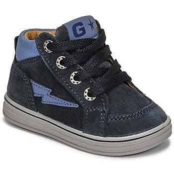 鞋子 男孩 高帮鞋 Citrouille et Compagnie PALLA 海蓝色