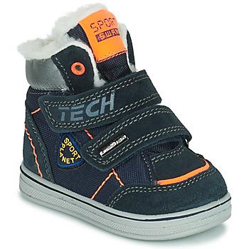 鞋子 男孩 短筒靴 Citrouille et Compagnie PALADIN 蓝色