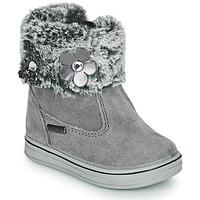 鞋子 女孩 短筒靴 Citrouille et Compagnie PALADOU 灰色