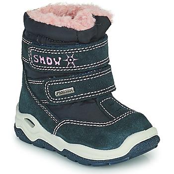 鞋子 女孩 雪地靴 Citrouille et Compagnie POUDOU 蓝色 / 玫瑰色