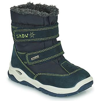 鞋子 女孩 雪地靴 Citrouille et Compagnie POUDOU 蓝色 / 绿色