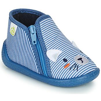 鞋子 男孩 拖鞋 Citrouille et Compagnie PASTA 蓝色