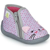 鞋子 女孩 拖鞋 Citrouille et Compagnie PASTA 灰色