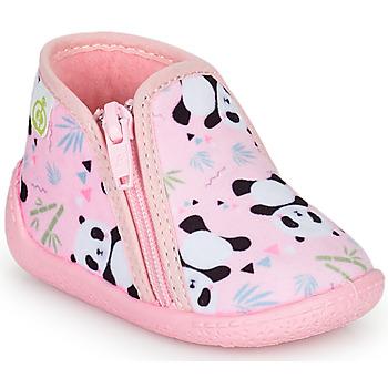 鞋子 女孩 拖鞋 Citrouille et Compagnie PIFOU 玫瑰色