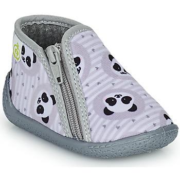 鞋子 儿童 拖鞋 Citrouille et Compagnie PACARONI 灰色