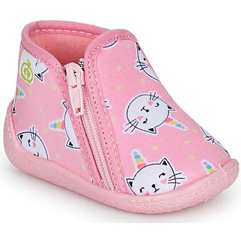 鞋子 女孩 拖鞋 Citrouille et Compagnie PAGLIATELLE 玫瑰色