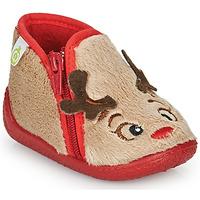 鞋子 儿童 拖鞋 Citrouille et Compagnie PARFALLE 米色