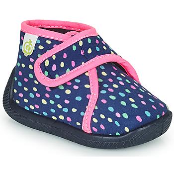 鞋子 女孩 拖鞋 Citrouille et Compagnie PASTACARBO 海蓝色