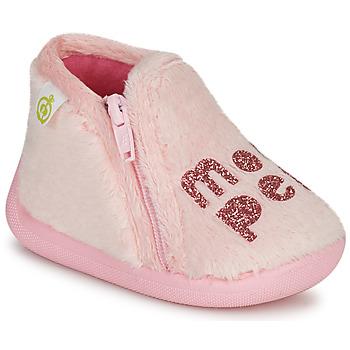 鞋子 女孩 拖鞋 Citrouille et Compagnie PRADS 玫瑰色
