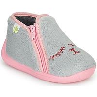 鞋子 女孩 拖鞋 Citrouille et Compagnie PRADS 灰色