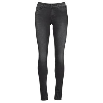 衣服 女士 牛仔铅笔裤 Replay LUZIEN 黑色